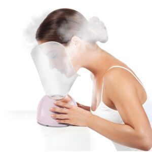 Magnitone facial steamer